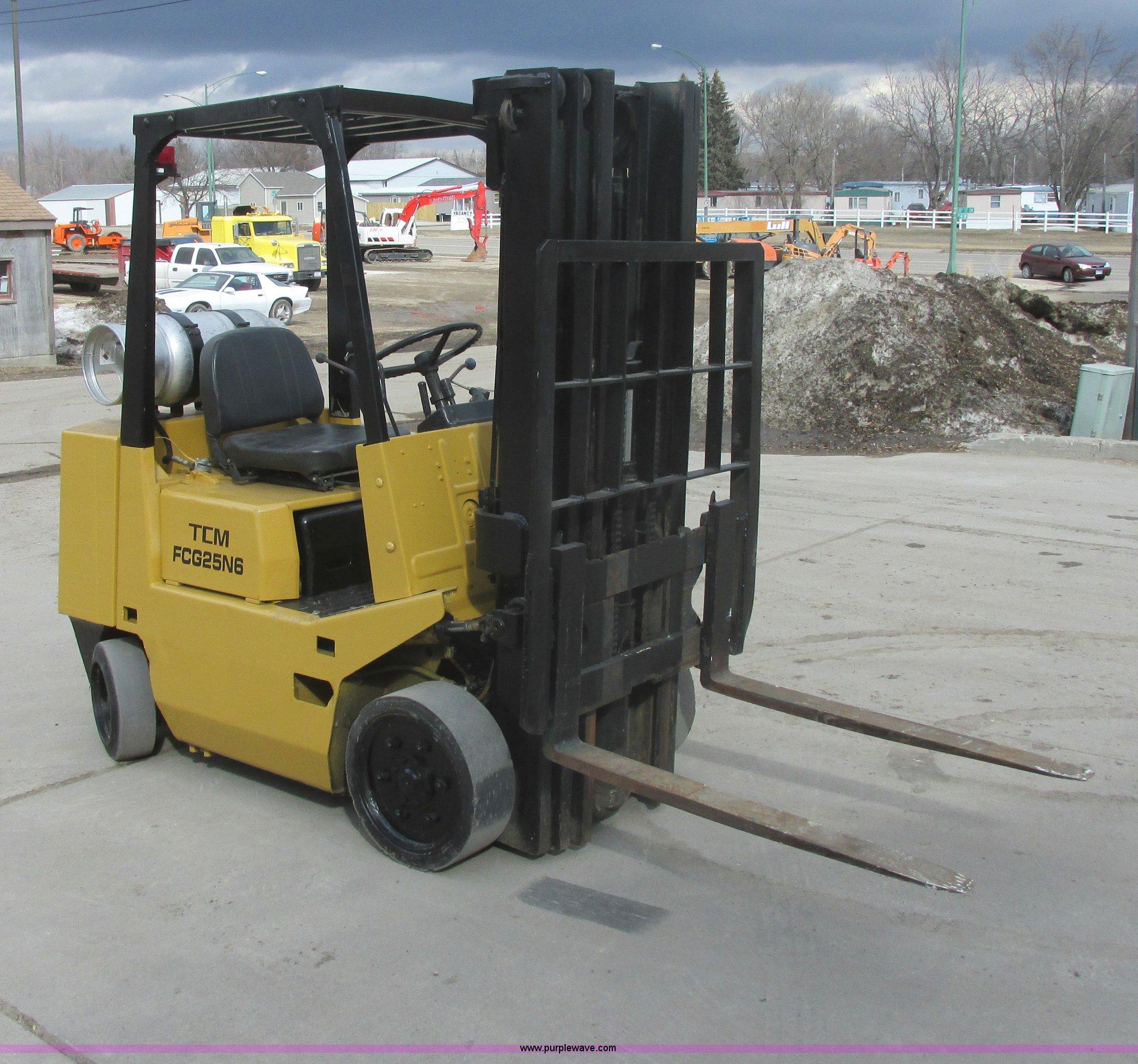 Tcm Fcg25n6 Forklift Manual Wiring Diagram Fc625n6 Item E5313 Sold April 24 Construct Rh Purplewave Com Fork Lift Manualdownload Prog 25 T3l