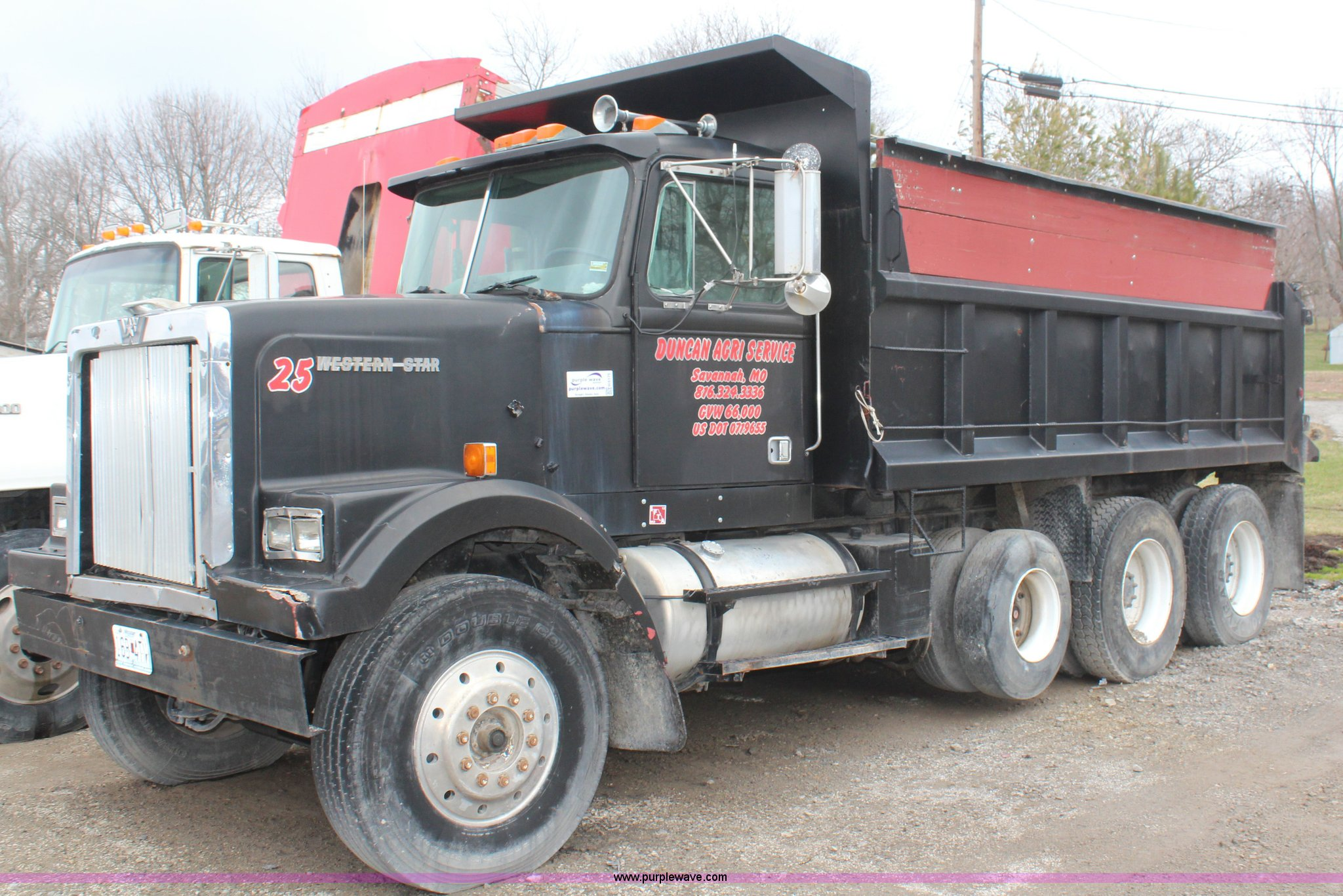 H6175 Image For Item 1988 Western Star