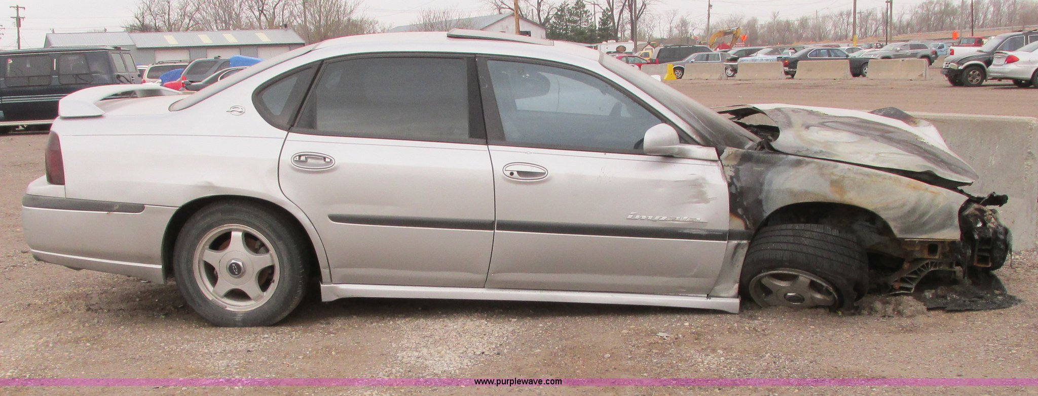 2001 Chevy Impala LS | Item G8493 | SOLD! April 29 City of W...
