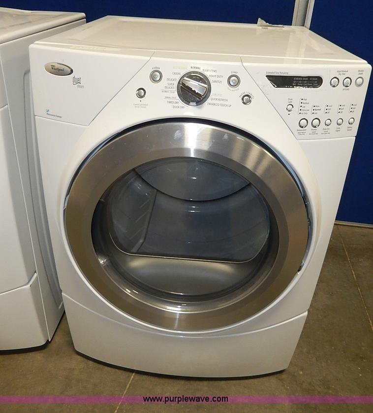 Whirlpool Duet Front Load Washer And Dryer Set