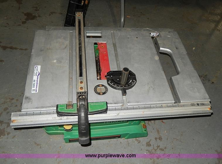 hitachi c10ra3 10 table saw 2