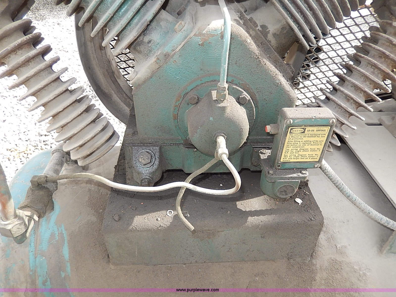Wayne Air Compressor Item Ax9079 Sold April 30 Vehicles Complete 7387 Wiring Diagrams Full Size In New Window