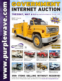 View May 6 Government Auction flyer