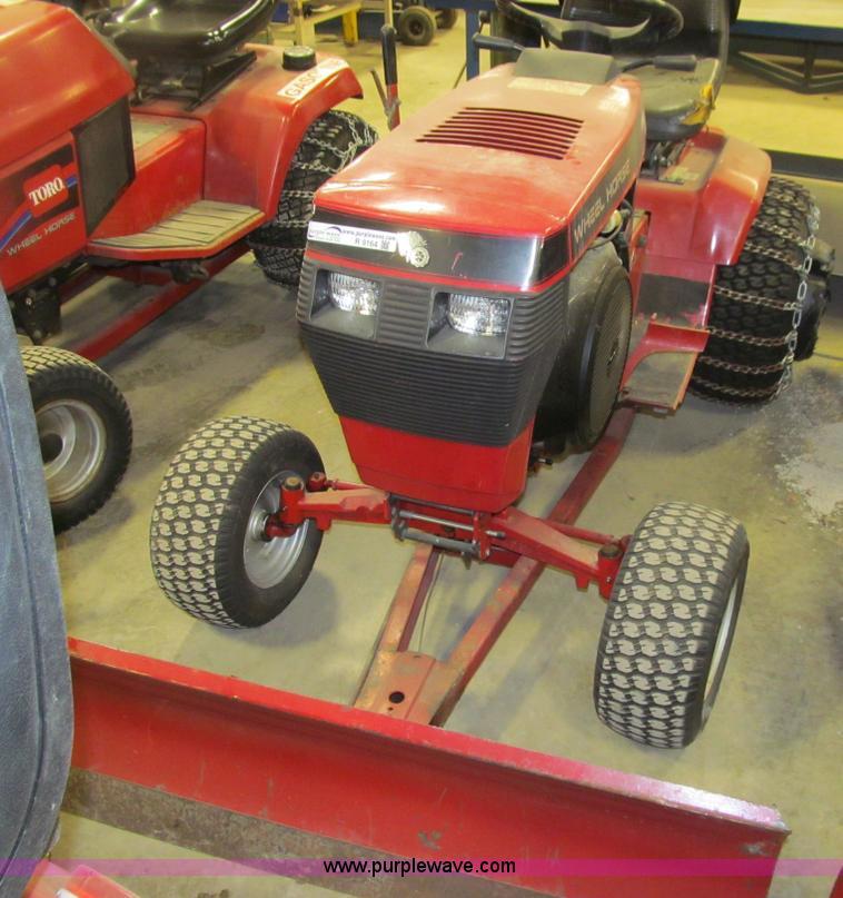 Toro Wheel Horse 520h Garden Tractor Item R9164 5 6 2014