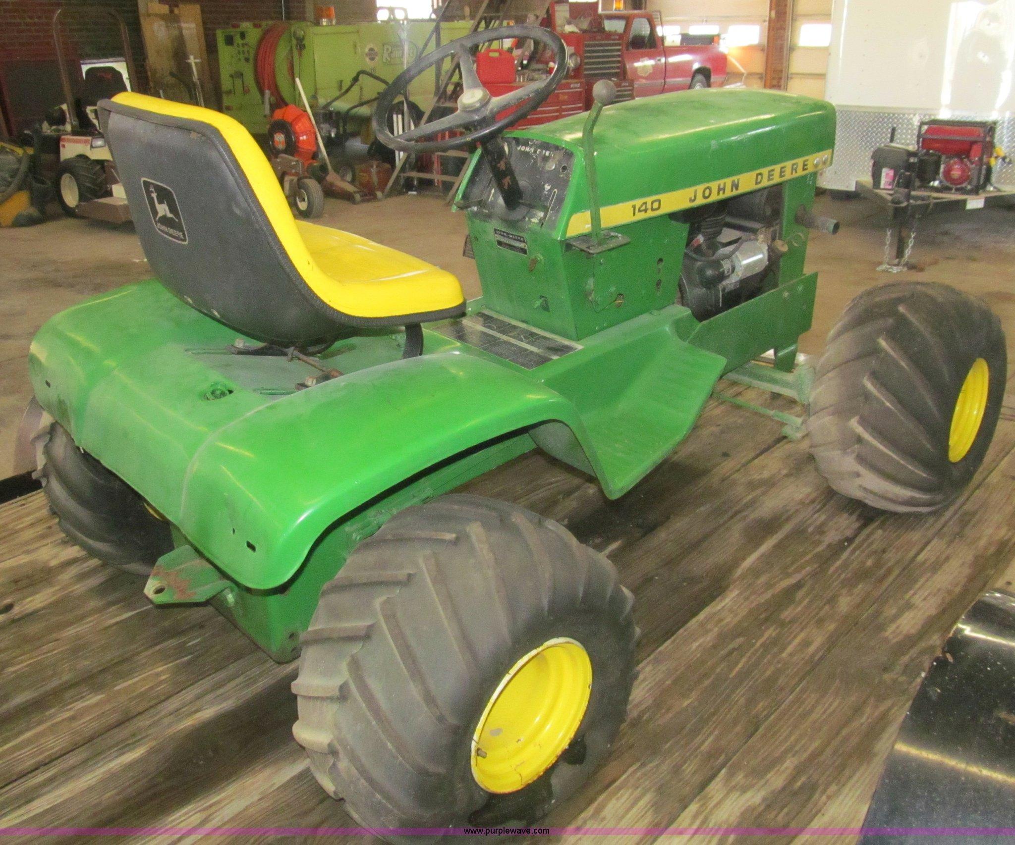 ... 1972 John Deere 140 lawn tractor Full size in new window ...
