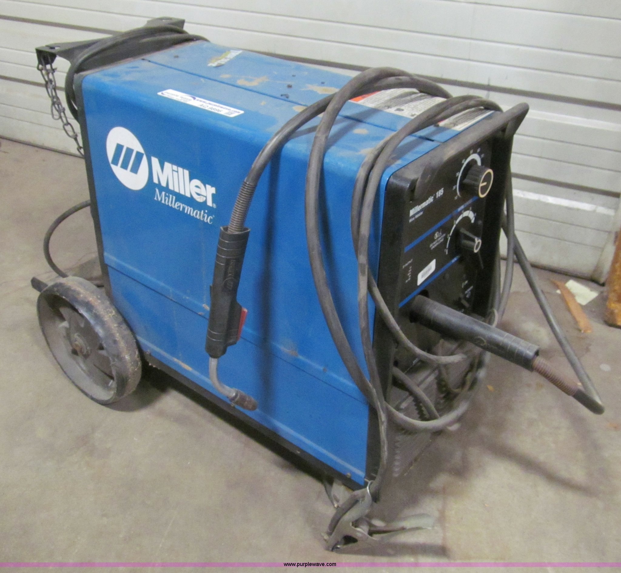 Miller Mig Welder For Sale >> Miller Millermatic 185 Wire Welder Item Aq9896 Sold May