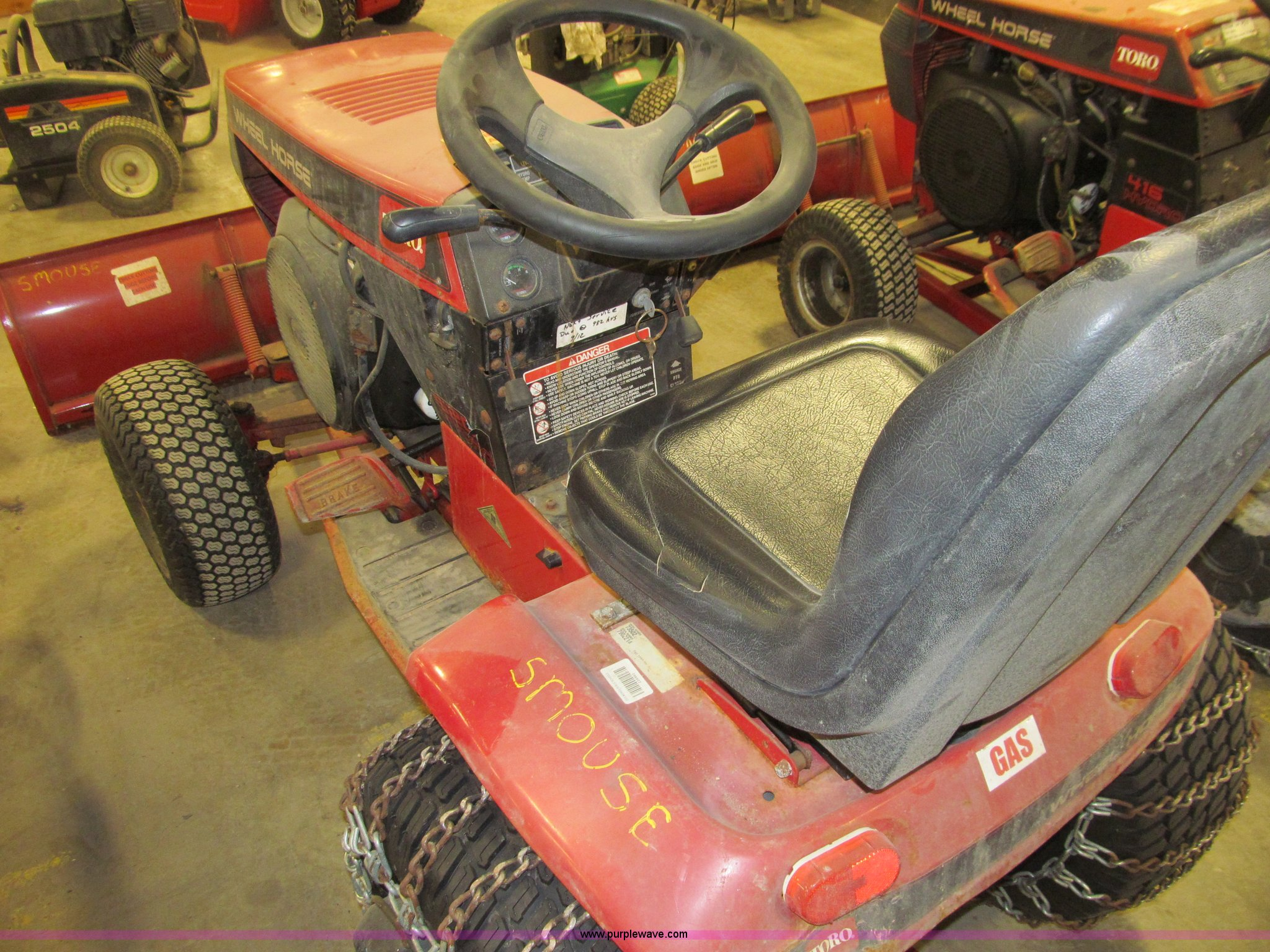 Toro 520 Hydro Wheel Horse Garden Tractor