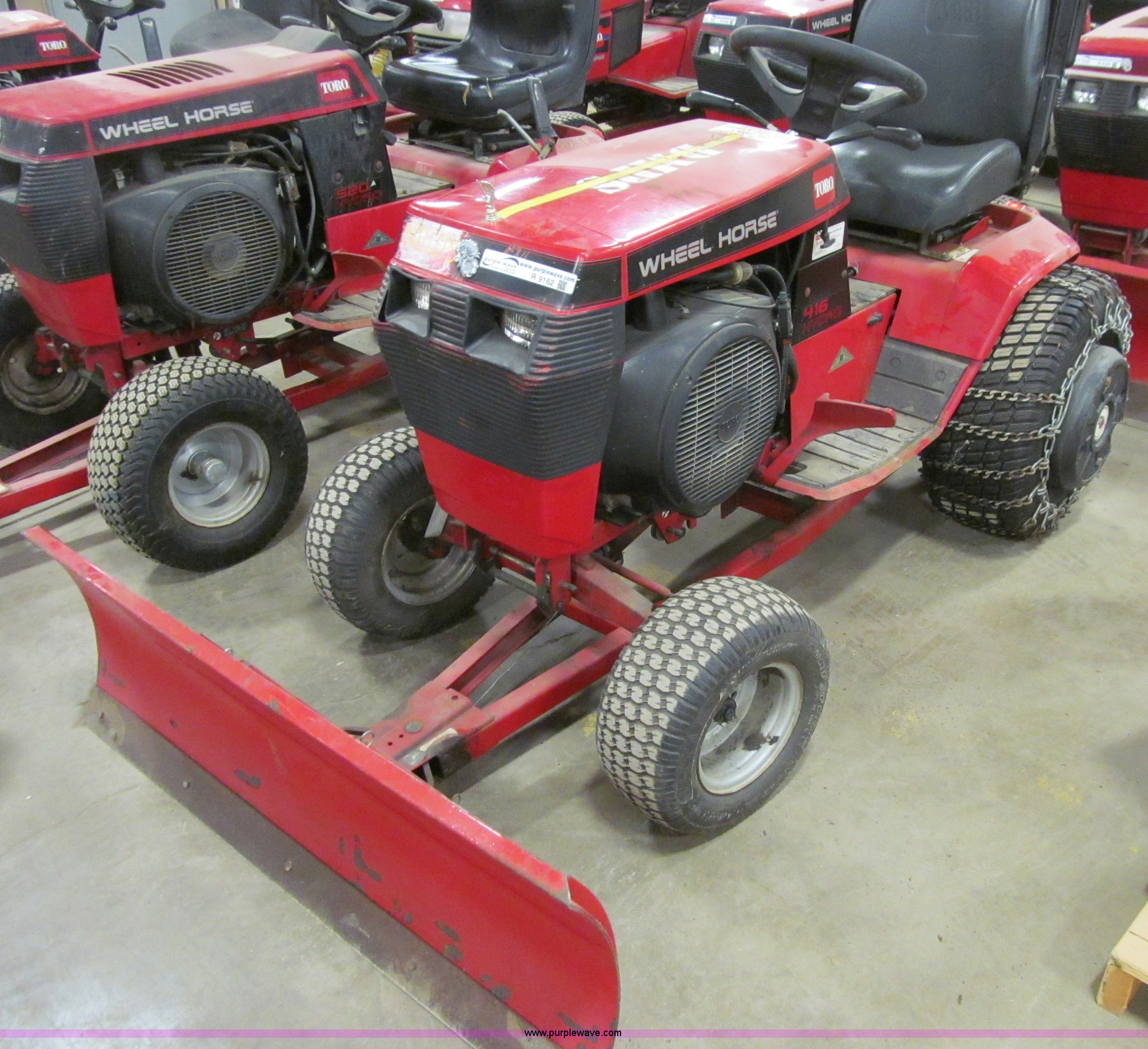 toro 416 hydro wheel horse garden tractor item r9162 sol