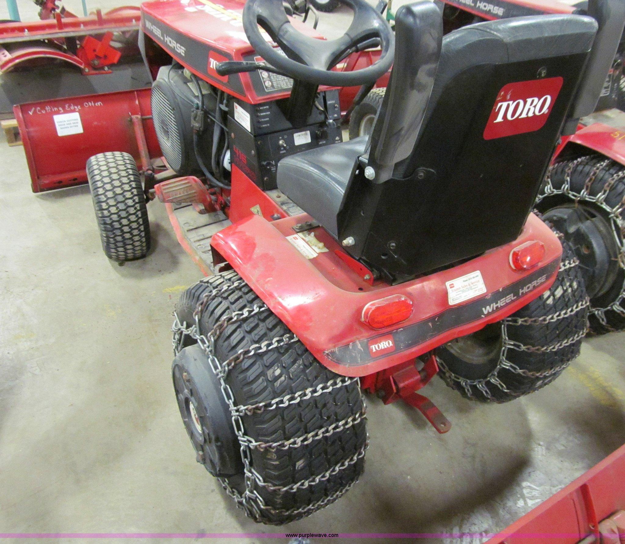 Toro 416 Hydro Wheel Horse Garden Tractor