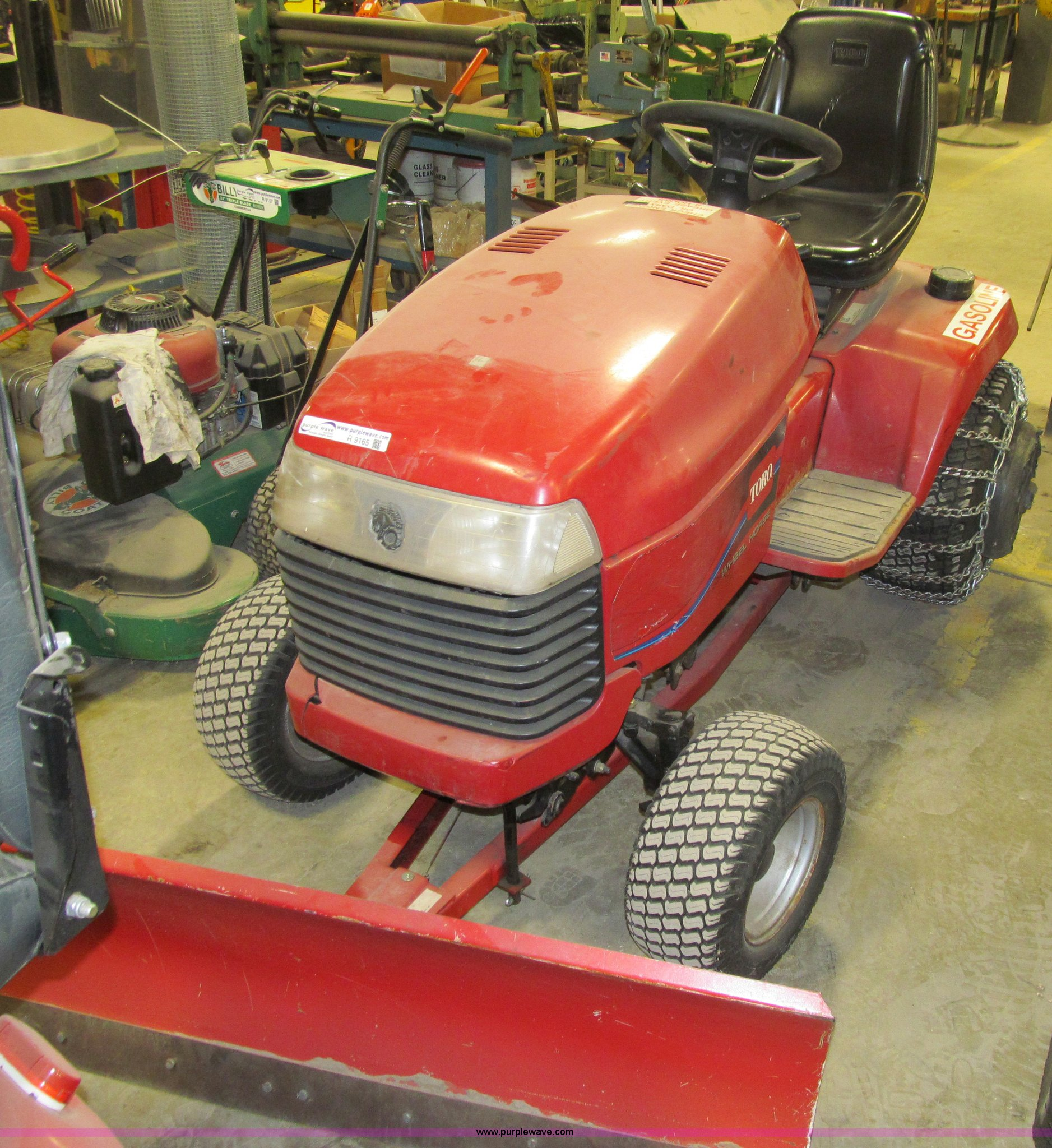 Toro Wheel Horse 522xi Garden Tractor