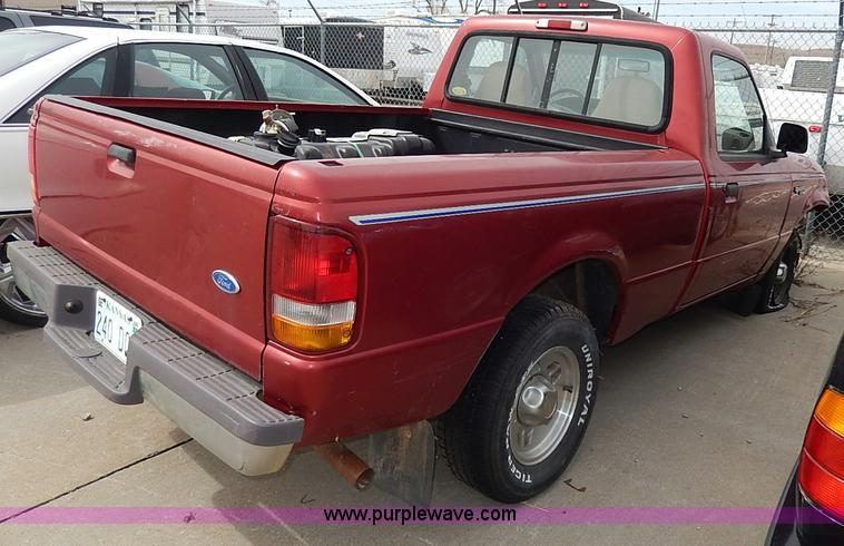 1997 Ford Ranger Xlt In Ft Riley Ks Item H6047 Sold Purple Wave