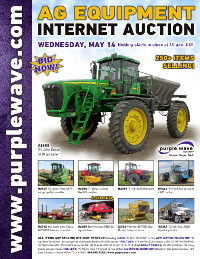 View May 14 Ag Equipment Auction flyer