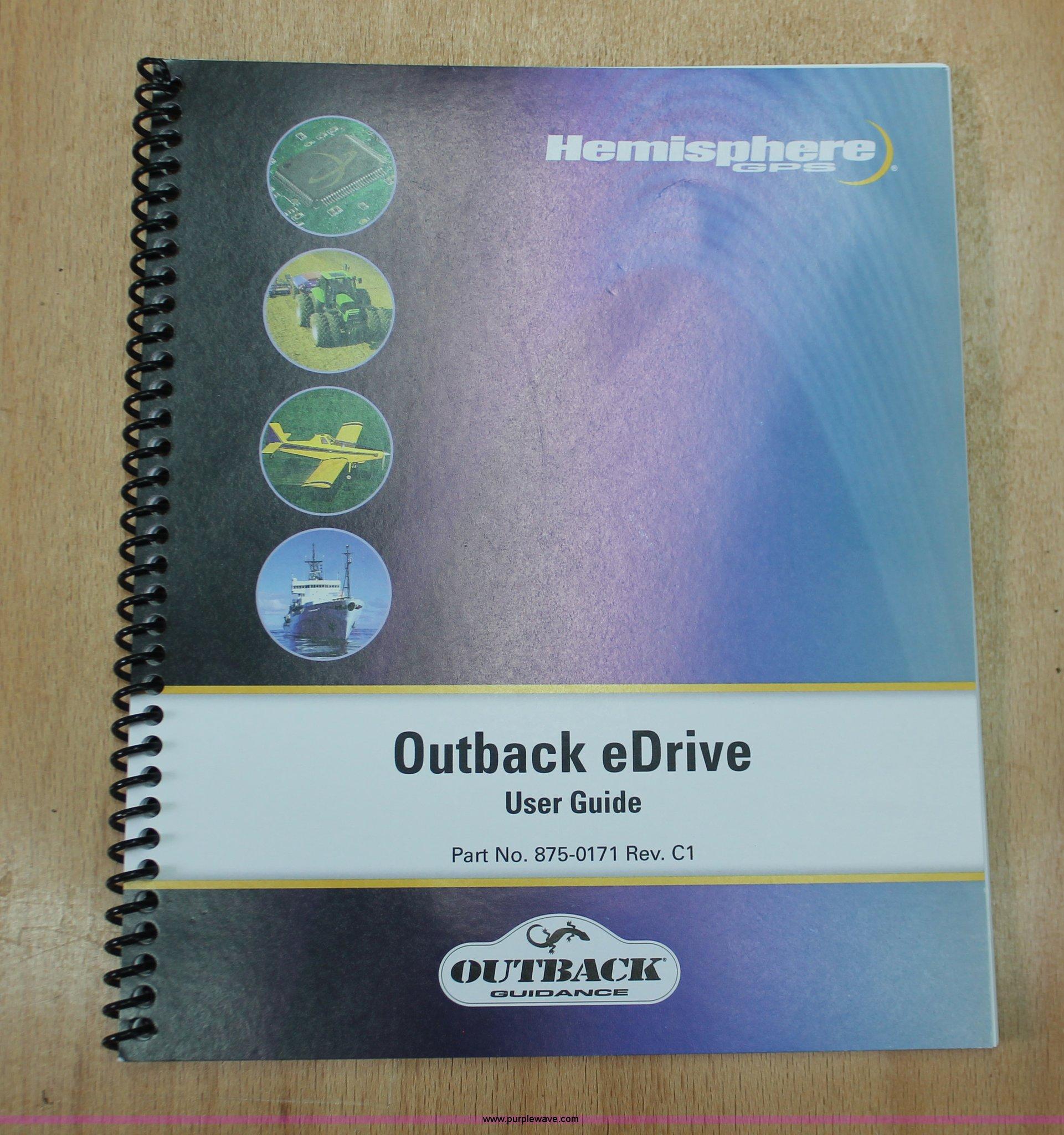 2008 Hemisphere Outback eDrive automated steering system | I...