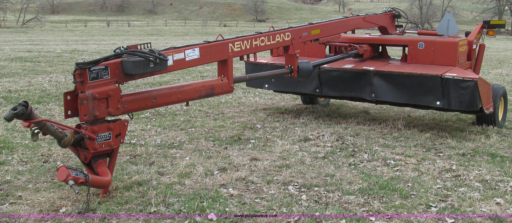 ... Holland 1431/25WT discbine mower conditioner Full size in new window ...