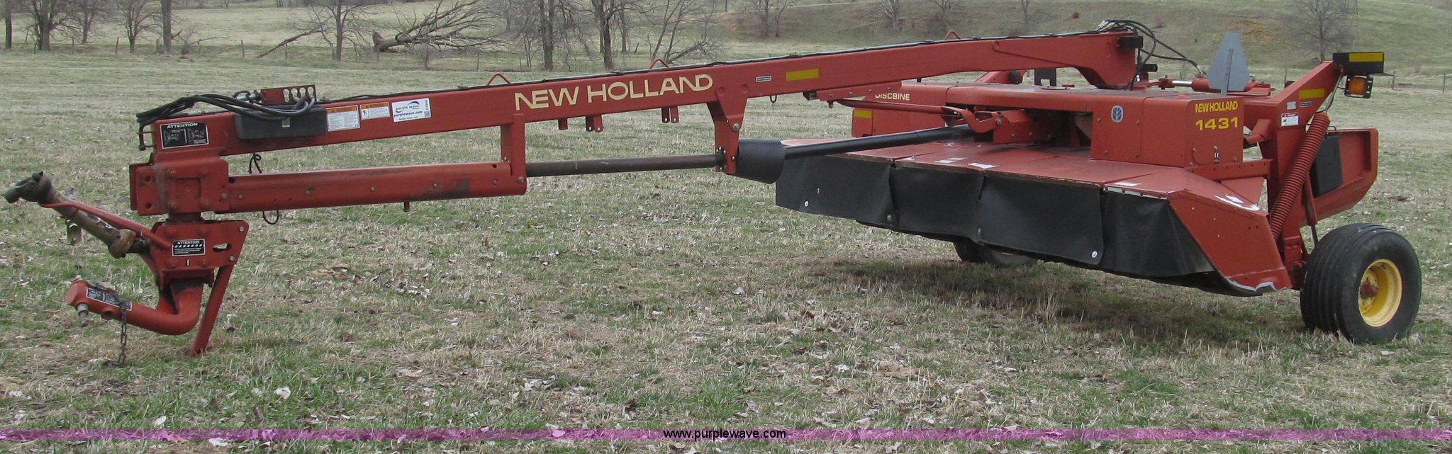 2002 New Holland 1431/25WT discbine mower conditioner | Item