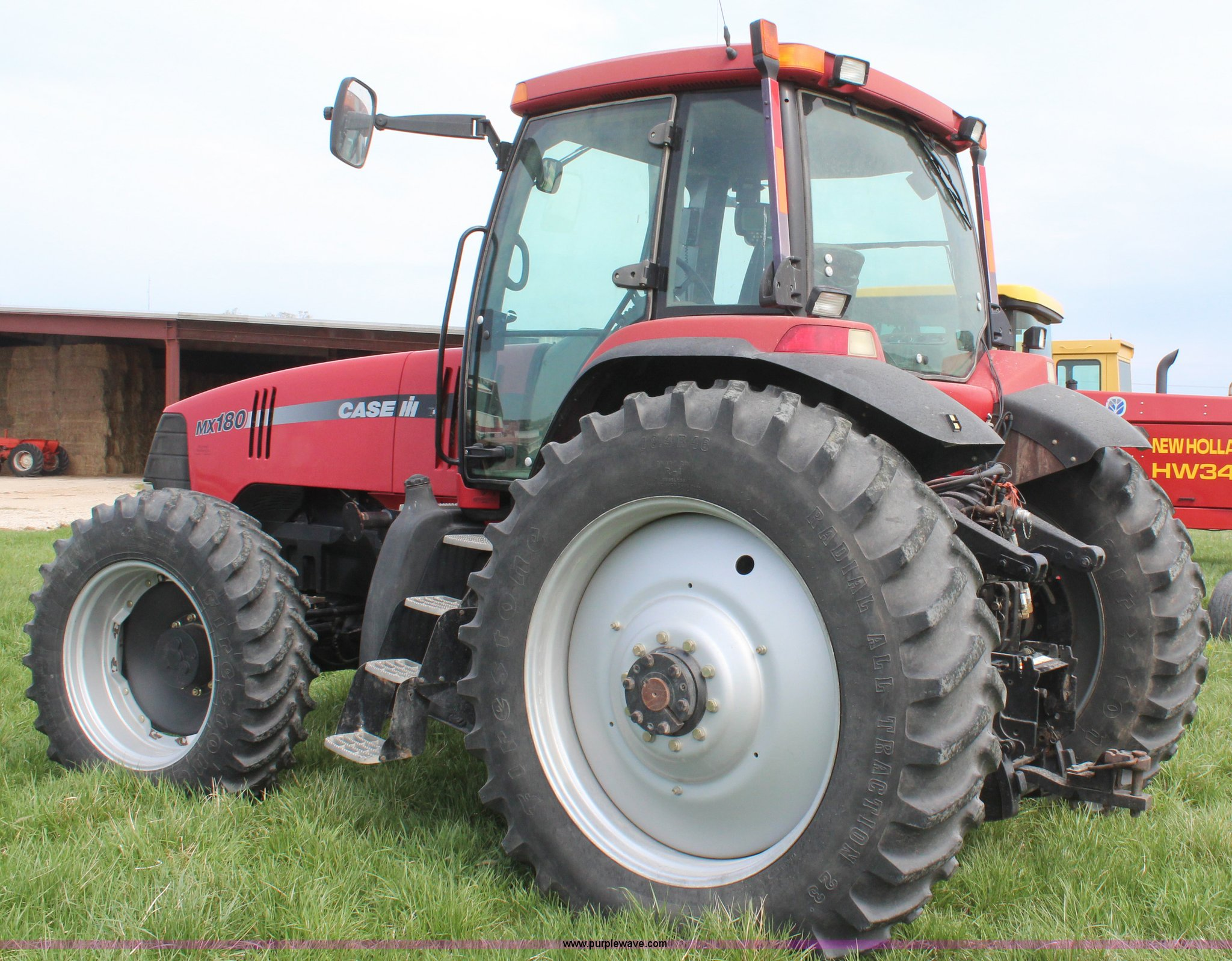 ... Case IH MX180 MFWD tractor Full size in new window ...