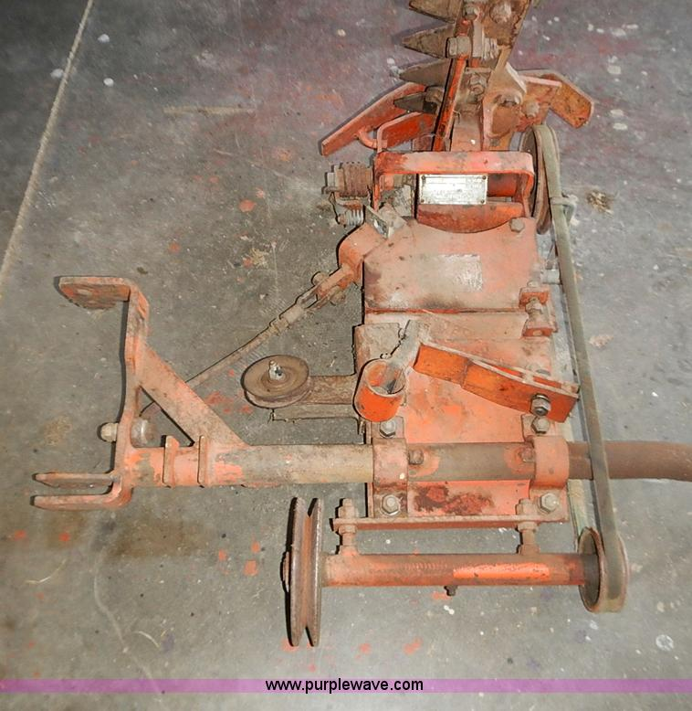 Haban 4' sickle mower attachment | Item AC9131 | SOLD! May 1