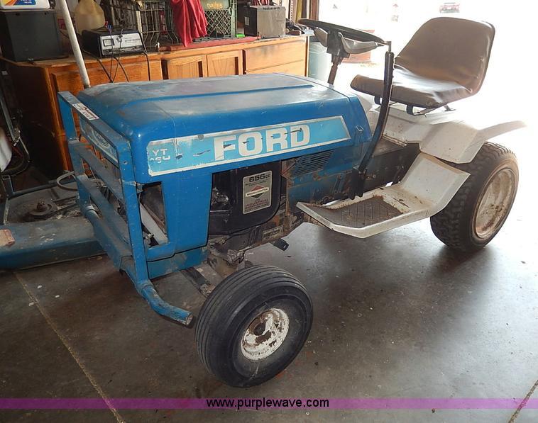 ford yt16 garden tractor autos weblog. Black Bedroom Furniture Sets. Home Design Ideas