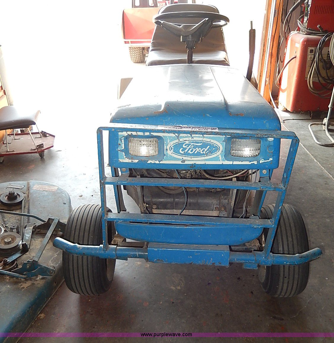 Ford Yt16 Lawn Mower Item Ac9138 Sold May 14 Vehicles A Wiring Diagram Full Size In New Window