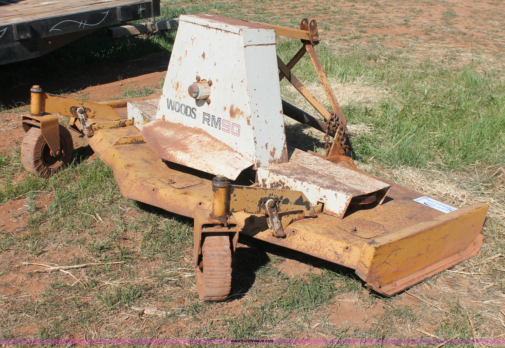 Woods RM90 finish mower | Item H5709 | SOLD! May 14 Vehicles