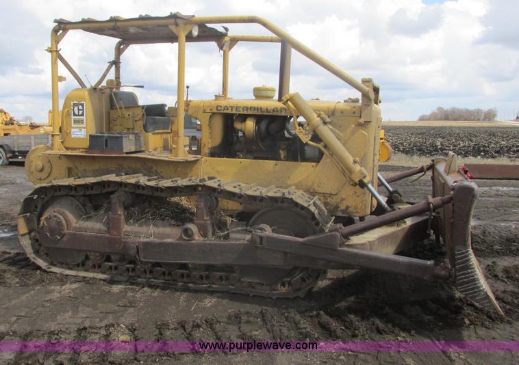 E5437 1965 caterpillar d6c dozer item e5437 sold! may 15 aggre Caterpillar D6C 10K at nearapp.co