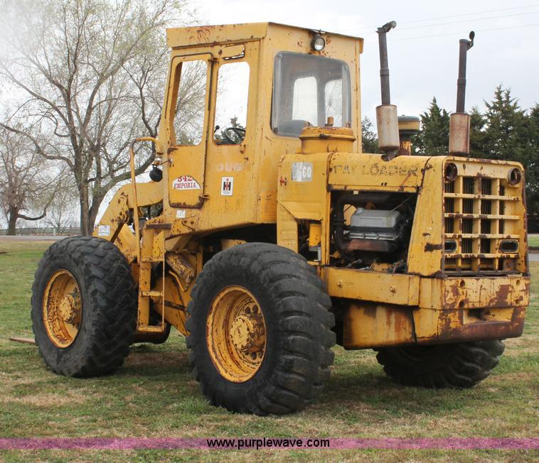 1973 Hough H60 Pay Loader wheel loader | Item H5722 | SOLD!
