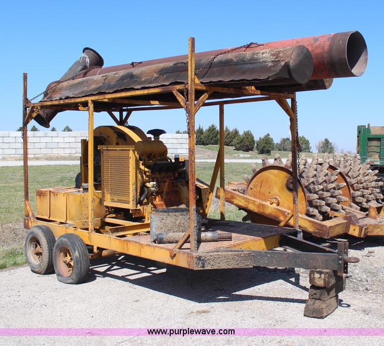... H6162 Image For Item H6162 Brush Burner 35 Air Curtain Destructor