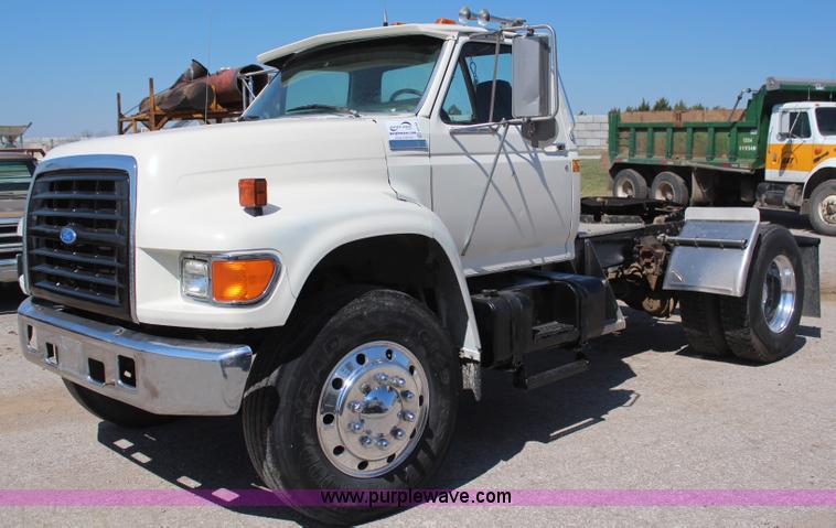 1995 ford f800 semi truck item h6164 sold may 15 aggreg rh purplewave com Jeep Wrangler Manual Jeep Wrangler Manual