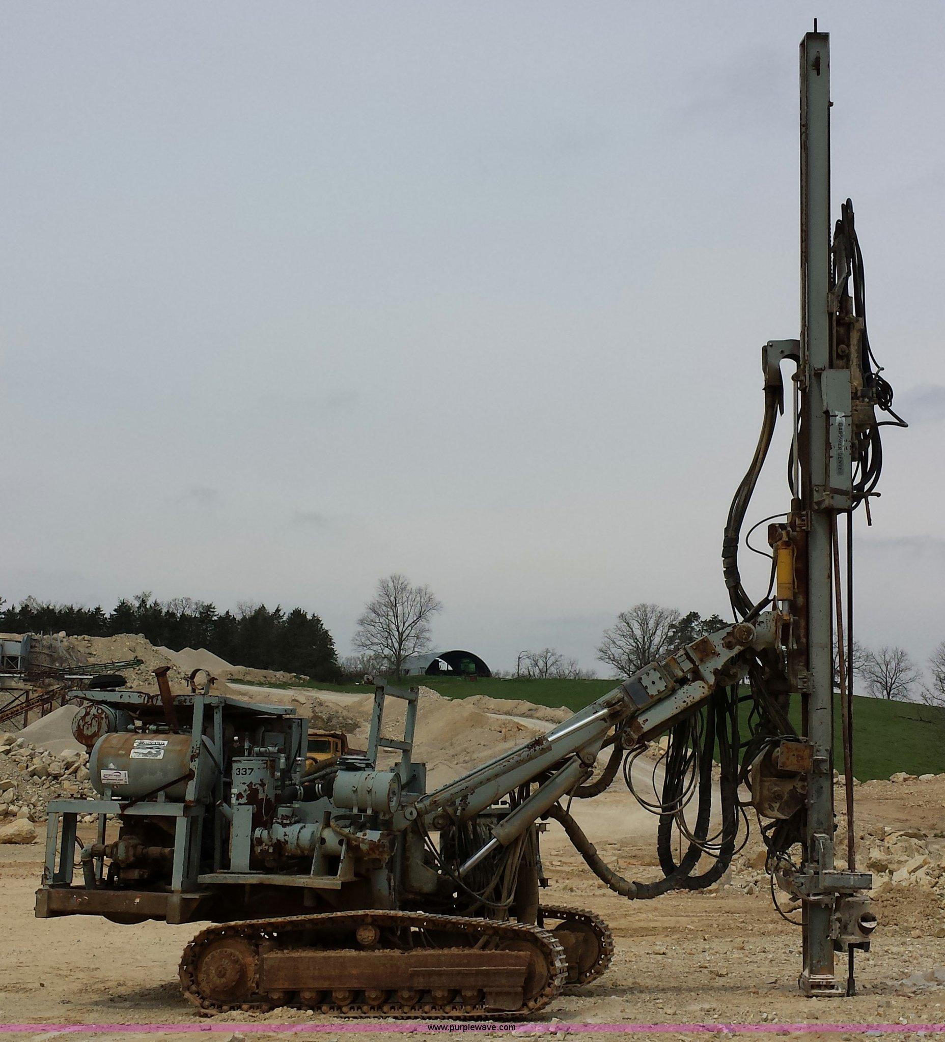 Gardner Denver SCH2500 Hydra-trac drill   Item D3959   SOLD!