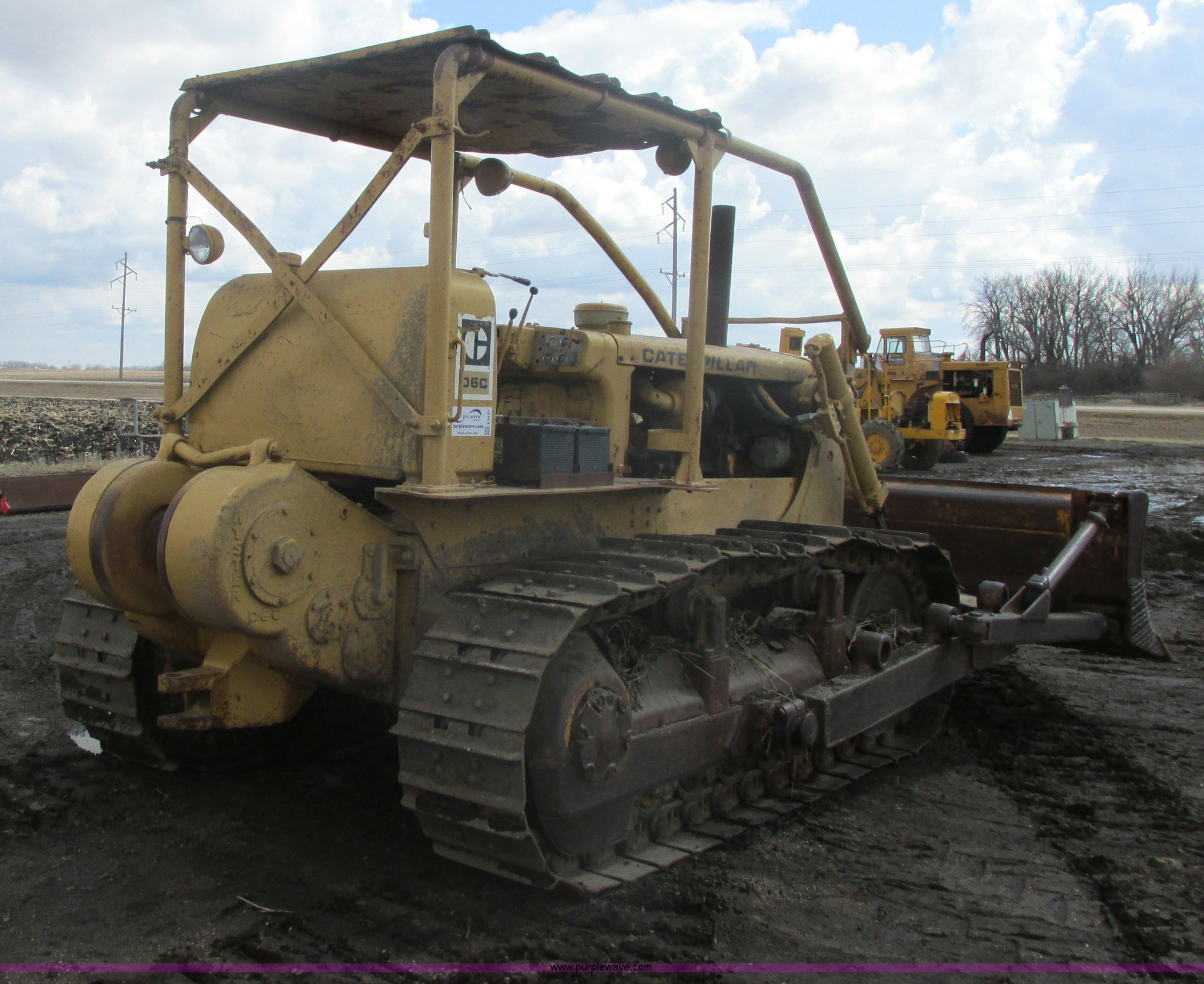 E5437B 1965 caterpillar d6c dozer item e5437 sold! may 15 aggre Caterpillar D6C 10K at reclaimingppi.co