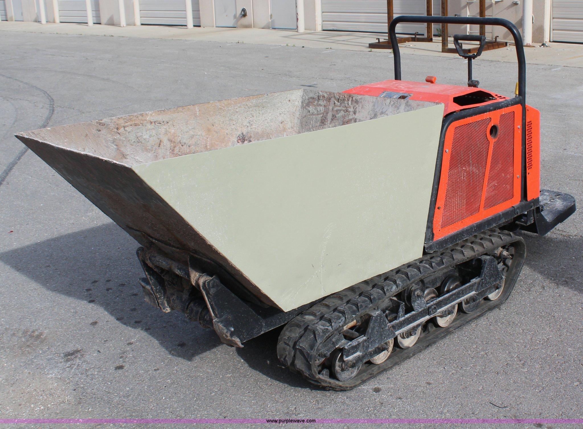 Canycom SC75 concrete buggy | Item H6006 | SOLD! May 15 Aggr