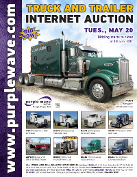 View May 20 Truck and Trailer Auction flyer