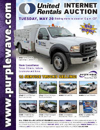 View May 20 United Rentals Auction flyer