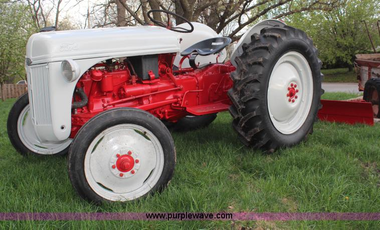 1948 Ford 8n Tractor Item Am9480 Sold May 28 Ag