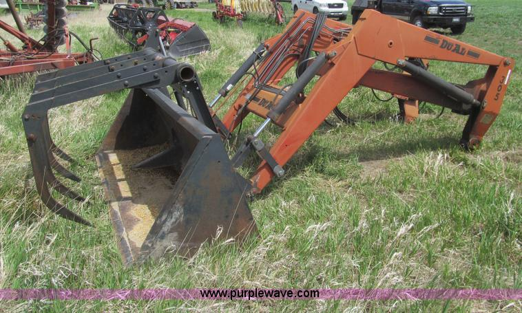 Du Al 305 Loader Grapple Bucket No Reserve Auction On
