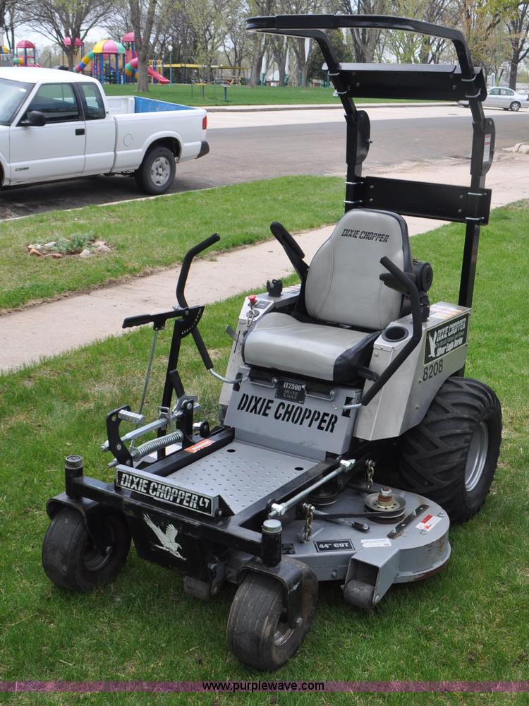 Dixie Chopper Lt2700 Ztr Lawn Mower No Reserve Auction