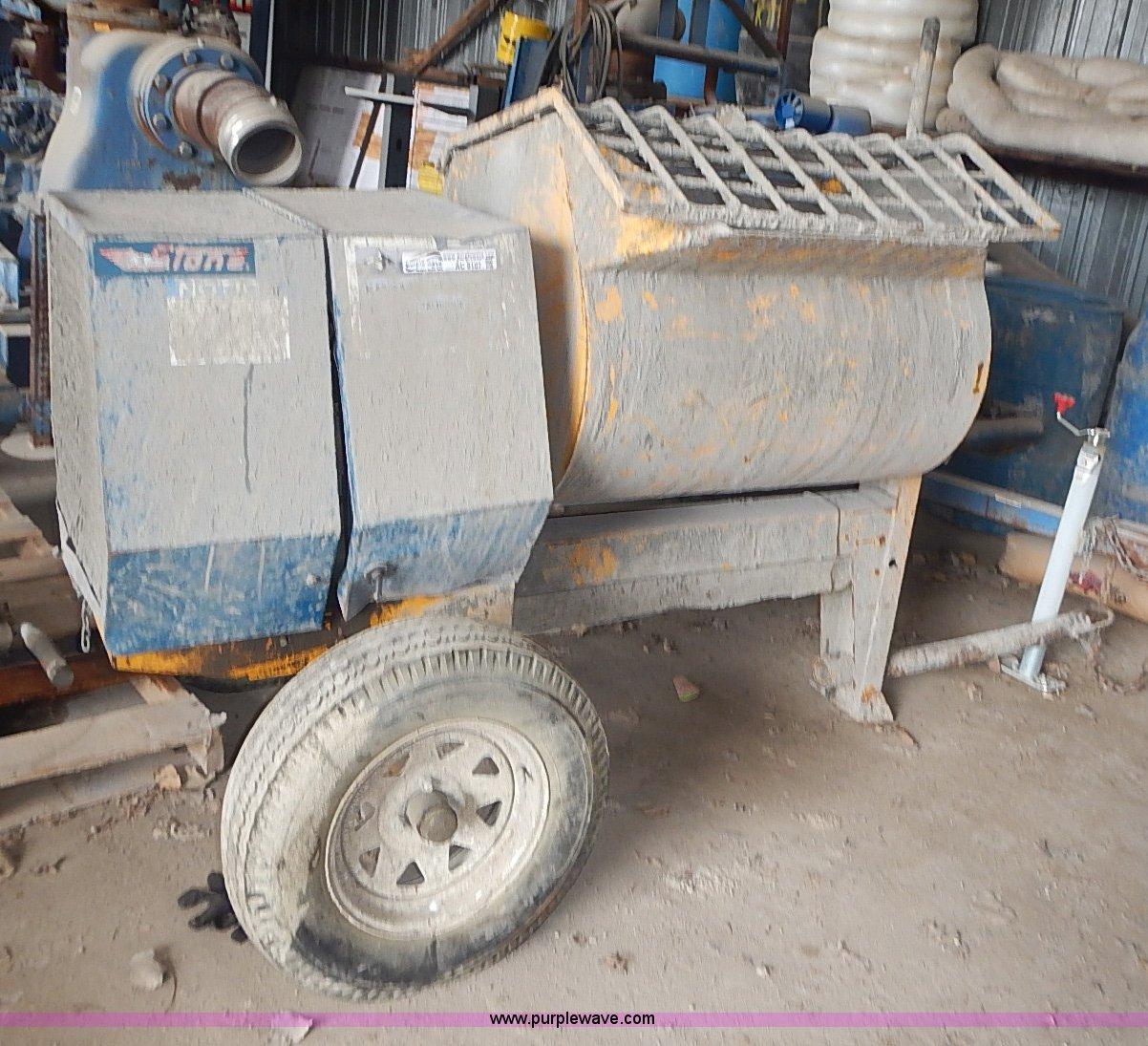 Mortar Mixer For Sale >> Stone 855pm Mortar Mixer Item Ac9107 Sold May 28 Vehicl