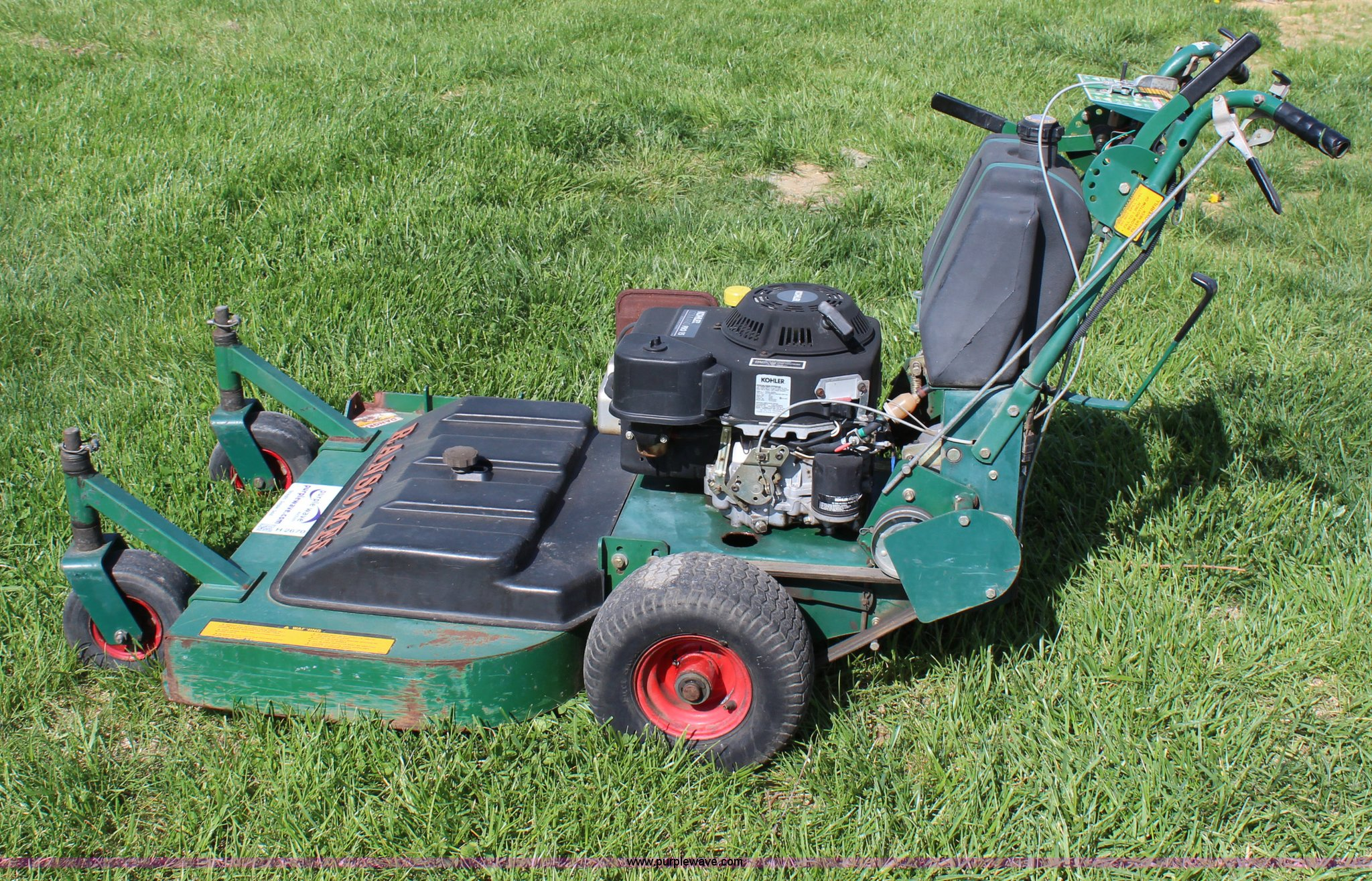 ransomes walk behind mower item h2670 sold may 28 vehic rh purplewave com ransomes mower parts lookup ransomes mower manuals mk4