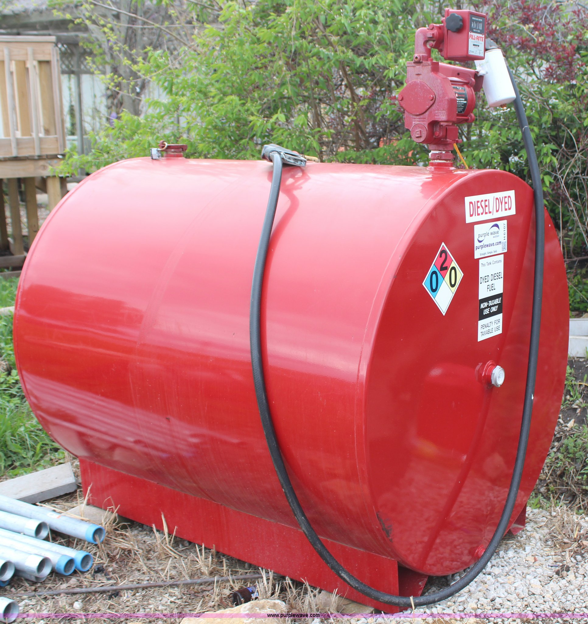 500 Gallon Fuel Tank >> 500 Gallon Fuel Tank Item H6107 Sold May 28 Vehicles An