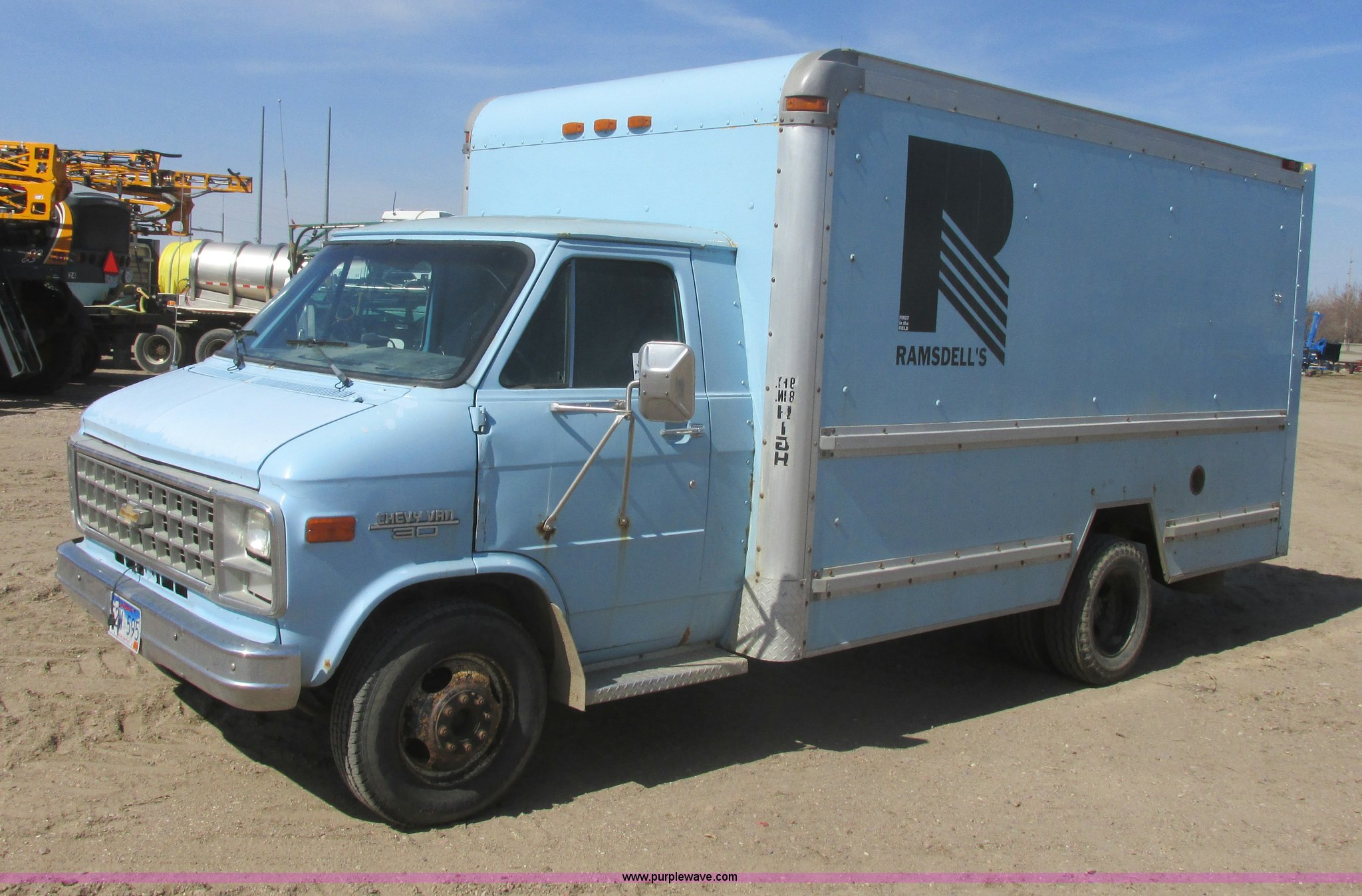 1985 Chevrolet C30 box truck | Item I2717 | SOLD! May 28 Veh