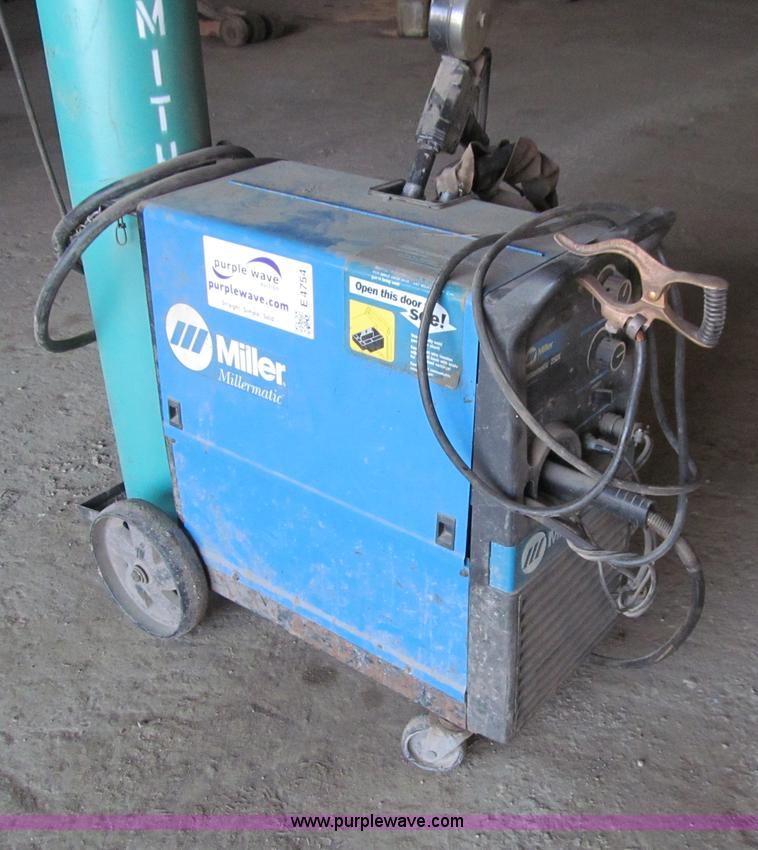 Miller Welders For Sale >> Miller Millermatic 250X wire feed welder | Item E4754 ...