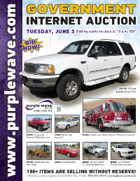 View June 3 Government Auction flyer