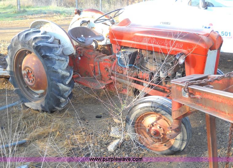 Ford Workmaster 601 Tractor Horsepower : Ford workmaster tractor item c sold june