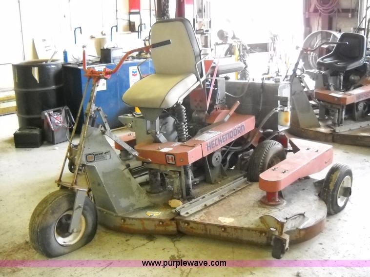 1998 Heckendorn Lawn Mower Item D1008 6 3 2014