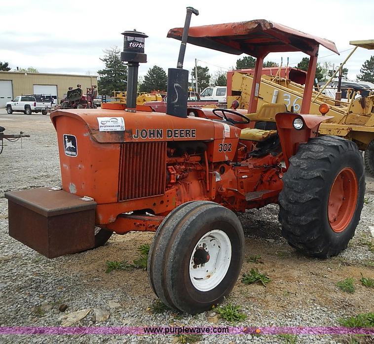 John Deere 302D tractor Item I3654 – John Deere 302 Wiring Schematic