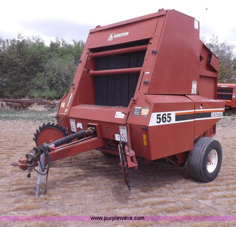 Hesston 540 Hay baler Manual