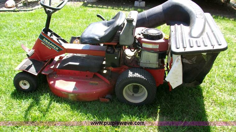 Snapper Mower Transmission : Snapper sr lawn mower item d sold june