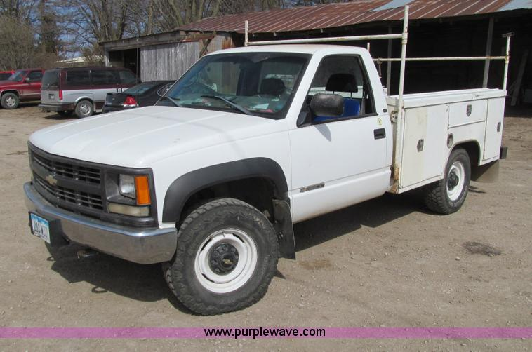 1998 Chevrolet Cheyenne 2500 Utility Truck In Grinnell Ia Item