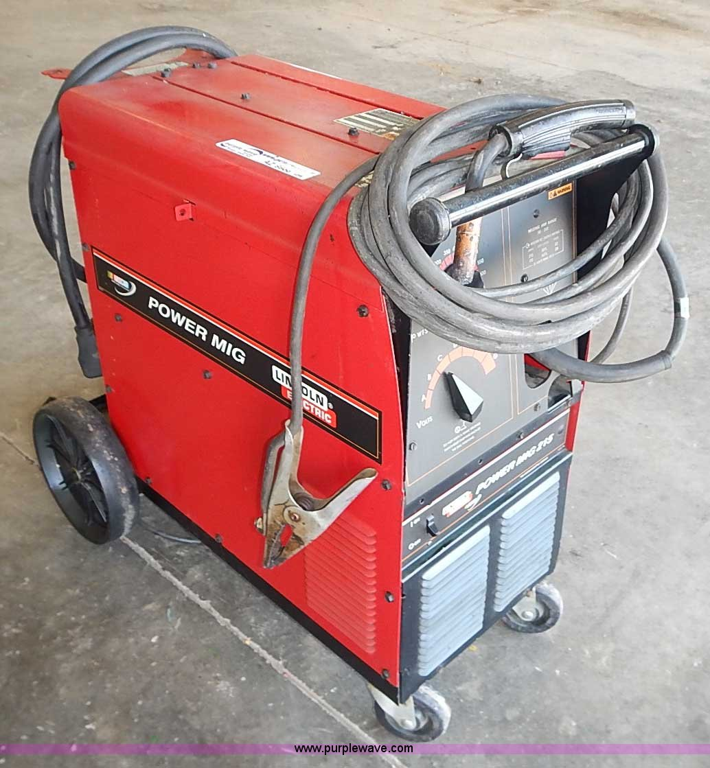 Lincoln Electric Power Mig 215 Welder Item Az9988 Sold Wiring Diagram Image For