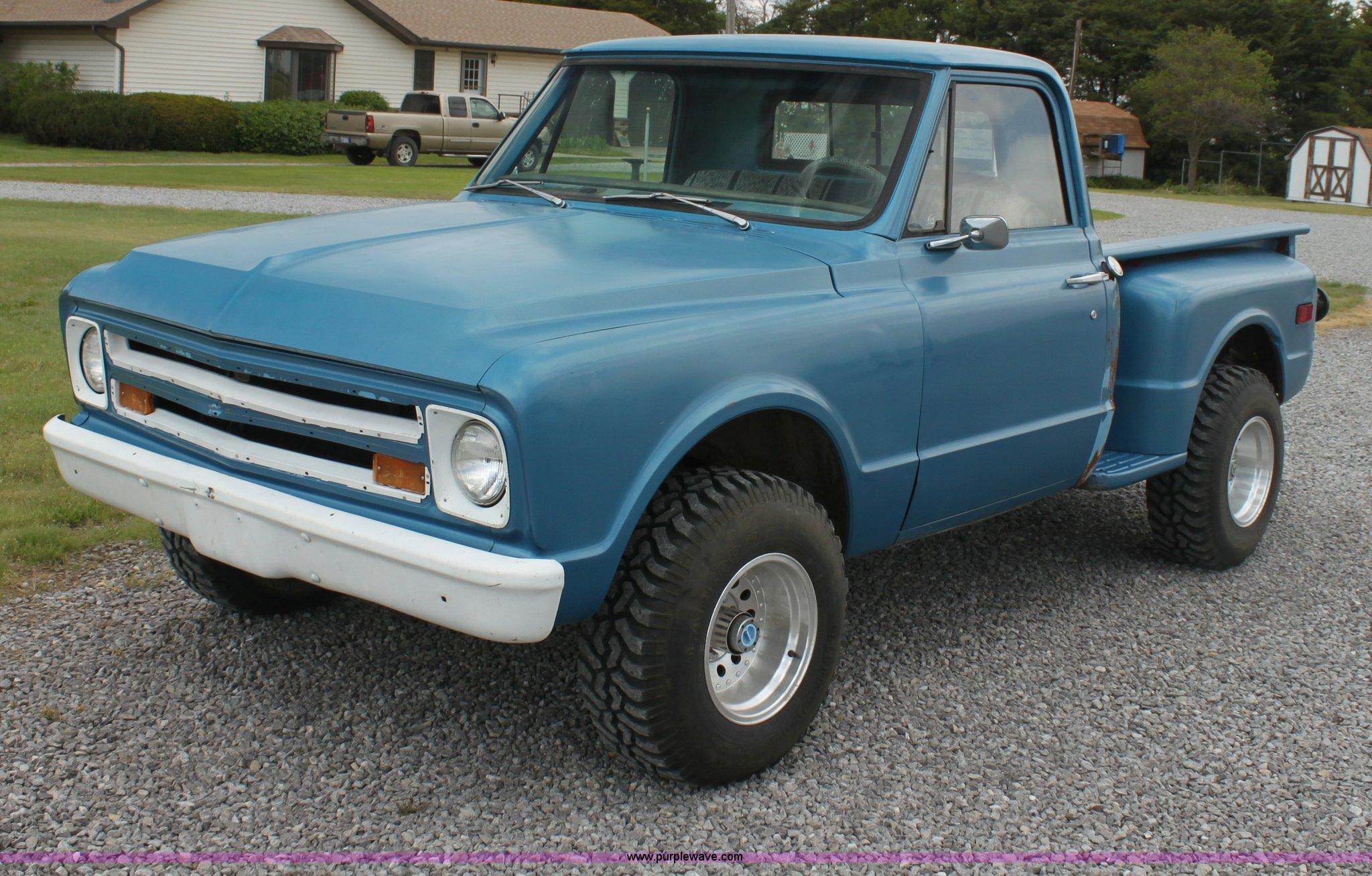 1967 Chevrolet C10 Pickup Truck Item I7422 Sold June 11